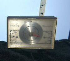 Vintage 1960's Desk Top/Table Top Barometer by Airguide Instrument Co Chicago