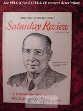 Saturday Review June 20 1959 GEORGE SARTON Carleton Beals William Sloane