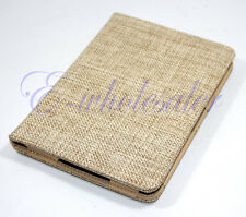 Rural Style Wheat PU Leather Case Cover for Amazon Kindle 4 4th/5 5th Gen E BE