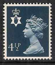 Northern Ireland 1974 NI17 4 1/2p 2 bands Regional Machin MNH