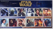 GB Presentation Pack 518 2015 STAR WARS WITH MINIATURE SHEET 10% off any 5+