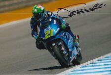 Franco Morbidelli Hand Signed 12x8 Photo Italtrans Racing Kalex Moto2 2015 5.