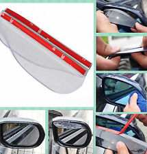 Universal Rear View Side Mirror Rain Board Sun Visor Shade Shield For Car Truck