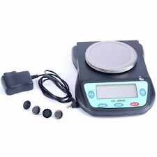 500g x 0.01g High Precision Digital Scale Counting w/ USB Wall Adapter YaeTek