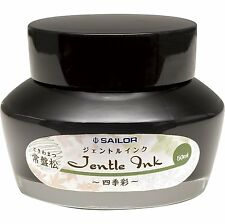 Sailor Fountain Pen Jentle Ink Bottle Shikisai Tokiwa-matsu  50ml