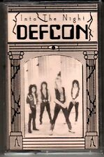 DEFCON: INTO THE NIGHT CASSETTE HARD ROCK HAIR METAL DEMO RUDY SARZO