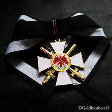 Order of the Red Eagle 2nd Class Prussia Military Medal Ww1 German Replica.