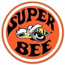Super Bee Car Styling Emblem Vinyl Car Sticker Decal  7""