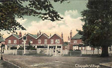 Claygate. Village by C.Saunders, The Green, Claygate. Tyte's Stores.