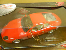 GUILOY - ASTON MARTIN DB7 - 1/18 Scale DIECAST Sports Car RED MIB Really NICE