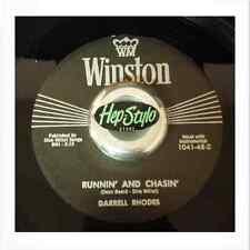 DARRELL RHODES 45 RE - RUNNIN' AND CHASIN' - ULTRA COOL TEXAS ROCKER LISTEN!