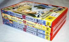AVATAR the legend of Aang BOOK 1 VOLUME1, 2,3,4. BOOK 2 VOLUME 1. DVD'S.