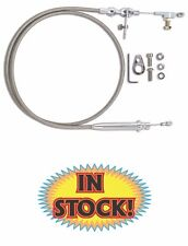 Lokar Hi-Tech Stainless Transmission Kickdown Cable Kit - Mopar 727 - KD-2727HT