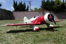 "scale Gee Bee Senior Sportster Model 72"" WS scratch build R/c Plane Plans"
