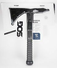 SOG VOODOO HAWK Tactical Axe with Nylon Sheath F18-N