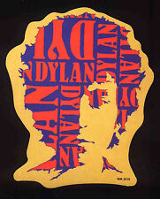 BOB DYLAN REPRO 1960'S PSYCHEDELIC PROMOTIONAL PROMO STICKER . NOT CD DVD