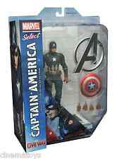 Marvel Select CAPITAN AMERICA Captain America Civil War film Action Figure 2016