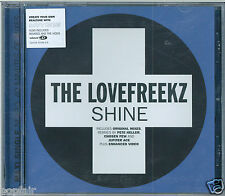 LOVEFREEKZ - SHINE 2005 ENHANCED CD SINGLE SAMPLES 'ELO'S SHINE A LITTLE LOVE'
