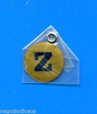"""KICA - Sorprese Decalcomania Figurina-Sticker anni 60 - LETTERA """"Z"""" TONDA"""