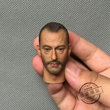 """Jean Reno Head Carving 1:6 Scale The Professional Léon Model F 12"""" Action Figure"""
