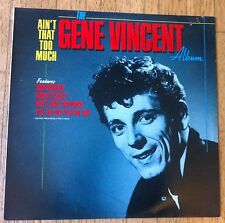 GENE VINCENT Ain't That Too Much LP/U.K.