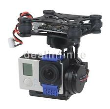 3Axis Brushless Gimbal Camera Mount with 32bit Storm32 Controller for Gopro 3 4