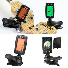 LCD Digital Clip On Metronome Tuner For Violin Guitar Bass Ukul 1pcs