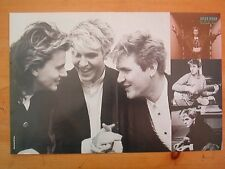 DURAN DURAN 3 heads + insets Centerfold magazine POSTER  17x11 inches