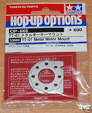 Tamiya 53666 TT01 Metal Motor Mount (TT01/TT01D/TT01E/TT01ES/TT01R) NIP