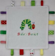 The Very Hungry Caterpillar TAGGY ~ Personalised ~ My Special Little Blanket!