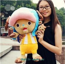 "Largel Size Stuffed One Piece Tony Chopper  Plush Doll Toy New World Ver. 20""H"