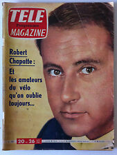TELE MAGAZINE du 08/1961; Robert Chapatte/ Elan Blanc/ l'Abbé Pierre/ Belmondo