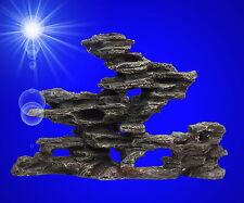 Aquarium-Deko ❤️ PAGODEN-RIFF 25 cm ❤️ Barsche Stein Felsen Terrarium Zubehör