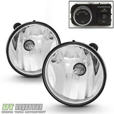 2007-2013 Chevy Suburban Tahoe GMC Yukon XL Fog Lights Lamps w/ OE Style Switch