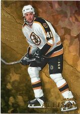 98-99 BE A PLAYER BAP GOLD #156 JASON ALLISON BRUINS *33012