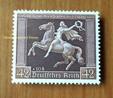 EBS Germany 1938 Brown Ribbon Horse Race - Braunes Band - Michel 671 MNH**