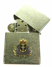 WRNS WOMENS ROYAL NAVAL SERVICE WINDPROOF CHROME PLATED LIGHTER