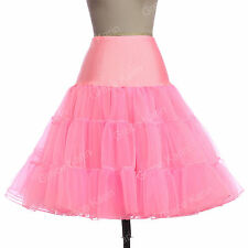 SUPER CHEAP PARTY Underskirt 1950s Petticoat Crinoline Swing Skirts