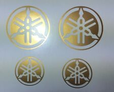 MOTO AUTO STICKERS TATTOO DIAPASON YAMAHA ORO 60mm e 40mm