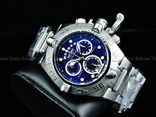 New Invicta 50mm Subaqua Noma IV Retrograde Swiss Made Chrono Bracelet SS Watch