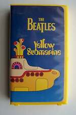 The Beatles Yellow Submarine VHS Tape (1968)