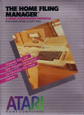 ATARI HOME FILING MANAGER NEW & SEALED ATARI 400/800/XL/XE DEADSTOCK