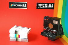 Sofortbild Kamera Camera Polaroid SLR 680 + 3 IMPOSSIBLE Instant Filme Films