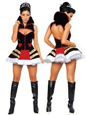 Queen Of Hearts Halloween Costume Size Medium Cards Sexy