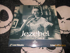 Jezebel Laserdisc LD Bette Davis Free Ship $30 Orders