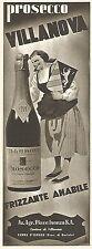 Y2240 Prosecco Villanova - Farra d'Isonzo - Pubblicità del 1942 - Old advert