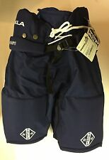 Ice Hockey Pant Sr Navy Tackla Model 851 w/leg zips: Sizes: S, M and L