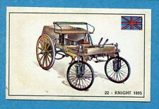 STORIA DELL'AUTOMOBILE Panini Figurina-Sticker n. 22 - KNIGHT 1895 -Rec