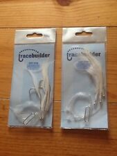 Sea Fishing Lures Cod Feathers 5/0 Hooks Small Joblot 2 Pkts Only £3.00