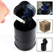 PORTABLE CAR LED ASHTRAY TRAVEL CIGARETTE SMOKE HOLDER WITH  CARRY